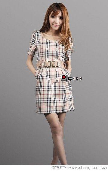 美裙大盘点(二) 修身连衣裙